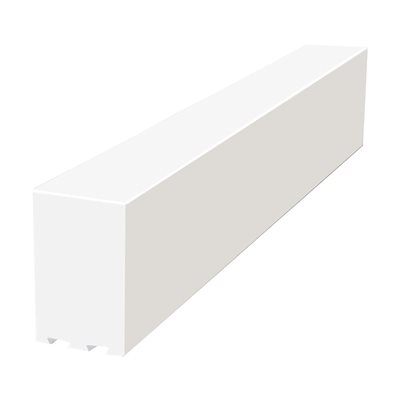 Pro Solid 4 Foot Shower Curb by Pro-Source Center