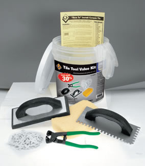 Complete Ceramic Floor Tile Installation Tool Kit by QEP