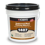 1407 Preferred Engineered Wood Flooring Adhesive by Roberts