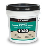 Roberts R8000 replaces 1920 Lift Off Carpet and Adhesive Remover