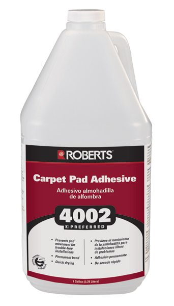 4002 Carpet Pad Adhesive Solvent Free 1 Gallon by Roberts