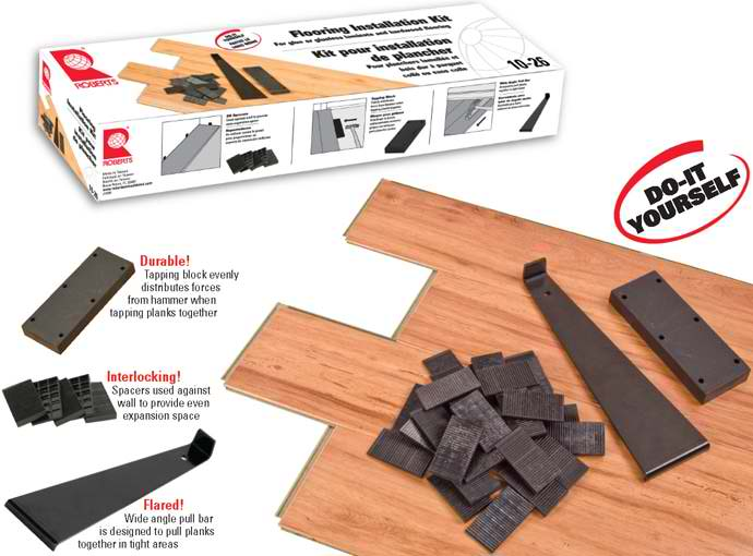 10-26 Laminate Flooring Installation Kit by Roberts