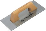 Rubi Finishing Trowels and Jagged Trowels with Closed Wooden Handle