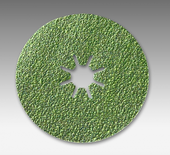 4515 bite 5 Inch Ceramic Heavy Duty Fiber Discs Grits 36 - 120 by Sia