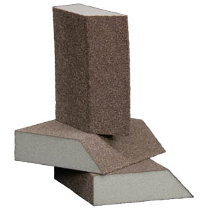 Foam Abrasive Single Angle 4 Sided Block 50 Pack by Sia