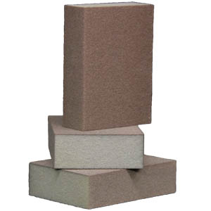 Foam Abrasive 4-Sided 1-inch Block - 50 pack by Sia