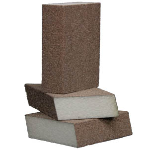 Foam Abrasive Dual Angle 4 Sided Block 10 Pack by Sia