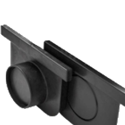 PSC Trench Drains Midi End Cap - Outlet 2 Pack