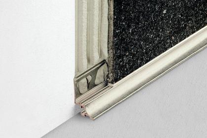 DILEX-AHKA Anodized Aluminum Cove-Shaped Corner Profiles by Schluter Systems
