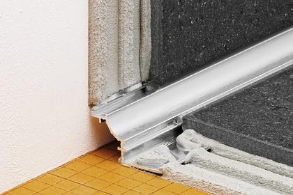 DILEX-AHK Anodized Aluminum Cove-Shaped Corner Profiles by Schluter Systems