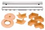 Schluter KERDI LINE Grate Assembly ONLY - Type A Closed Grate