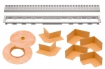 Schluter KERDI LINE Grate Assembly ONLY - Type B Perforated Grate
