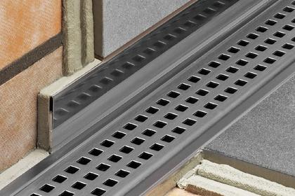linear shower drain system