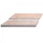 Schluter KERDI-SHOWER-L -LS Sloped Tray For KERDI-LINE