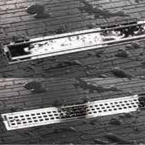 Kerdi-Line Chrome Grate Only for Linear Drains 20 to 48 Inch by Schluter Systems