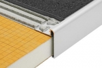 Schluter RONDEC STEP Anodized Aluminum Finishing and Edging Profiles