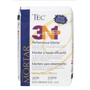 3N1 Lightweight Performance Latex Modified Mortar 30 Lbs by Tec