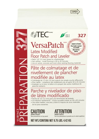 327 VersaPatch Latex Modified Floor Patch and Leveler 10 lb Bag by Tec