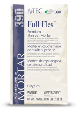 Full Flex Premium Latex Modified Thinset Mortar 25 50 Lbs By Tec