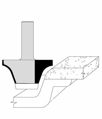 Rounding Over Undermount Solid Surface Bowl Bits by Velepec