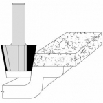 Velepec Bevel Undermount Solid Surface Bowl Bits