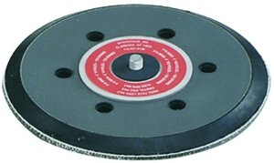 50610 6 Inch 6 Hole Vacuum Hook-Face Rubber Sanding Pad by Dynabrade