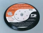 Dynabrade 50633 6 Inch Vacuum Rubber Face PSA Disc Pad