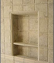 Recess-It Shower Recess Shelf REC 1414 13 x 13 Inch by Innovis Corp.
